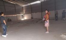 Kho xưởng cho thuê 450m2 An Phú Đông Quận 12