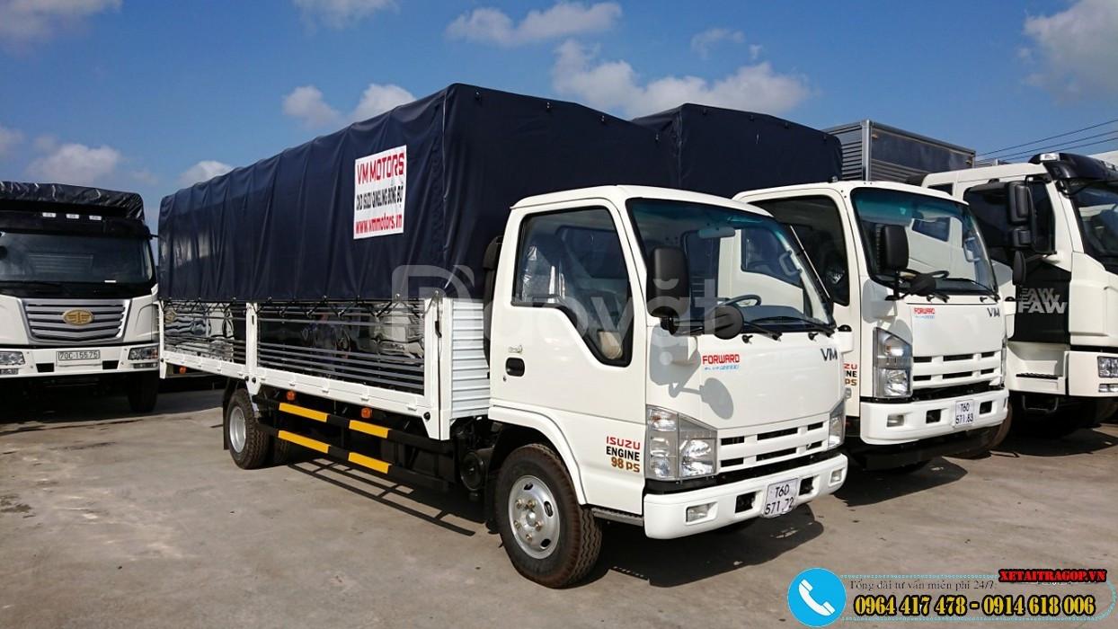 Xe tải ISUZU 1T9 thùng dài 6m2,rộng 2m giá tốt