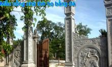 Mẫu cổng đá nhà thờ họ đẹp tại Nam Định