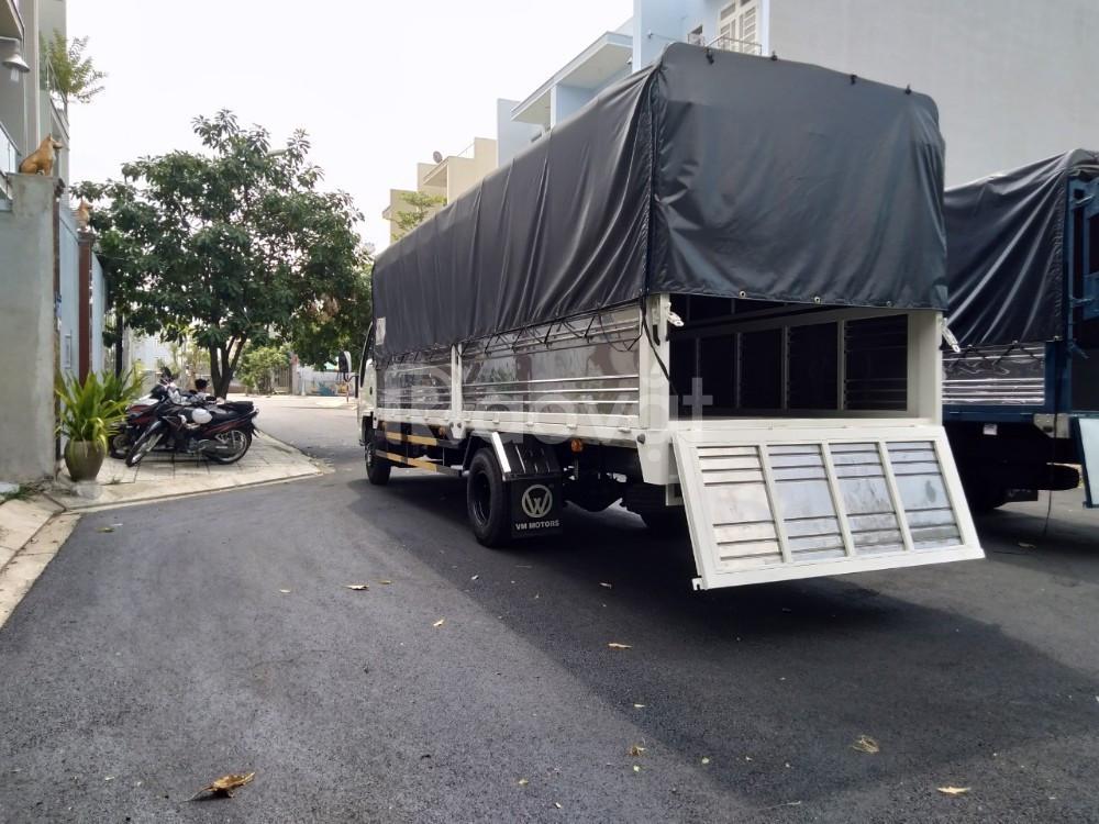 Xe tải isuzu 1.9 tấn thùng 6m2 chở pallet vào thành phố