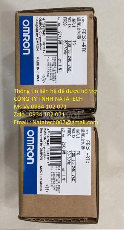 Bộ điều khiển nhiệt độ Omron E5CSL-RTC - Công Ty Tnhh Natatech