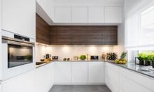 Tủ bếp gỗ giá rẻ thủ đức | Mẫu tủ bếp gỗ đẹp hiện đại
