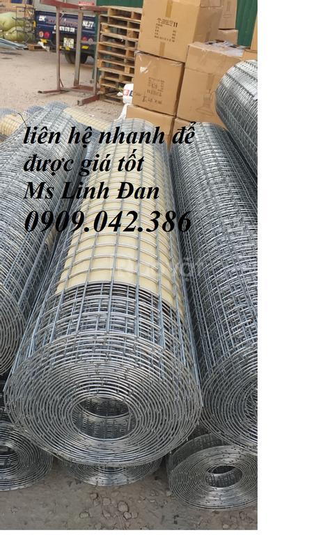 Lưới thép hàn mạ kẽm, lưới thép hàn chịu lực, lưới thép giá rẻ