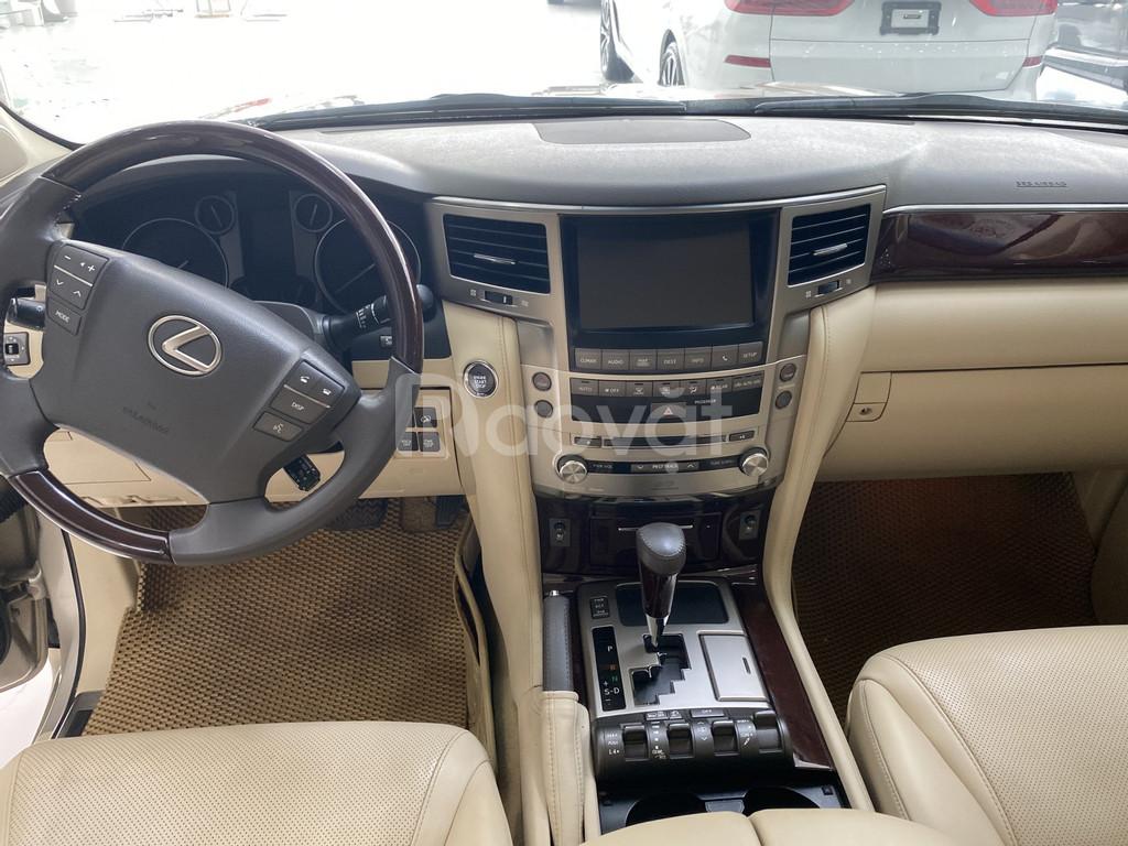Lexus LX570 nhập Mỹ, màu vàng, nội thất kem, đăng ký 2016, xe đẹp