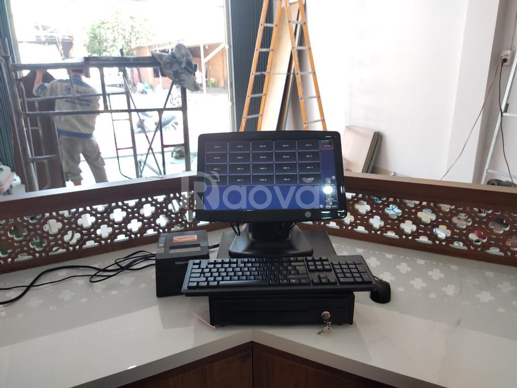 Bán bộ máy tính tiền tại Nghệ An cho quán trà sữa -trà chanh