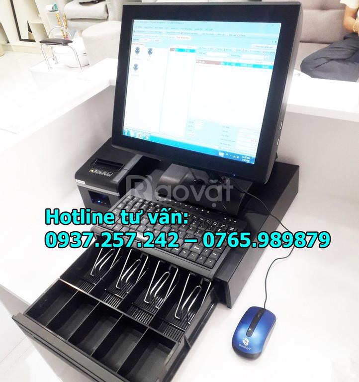 Bán máy tính tiền trọn bộ cho tiệm nail, salon tóc tại Cần Thơ
