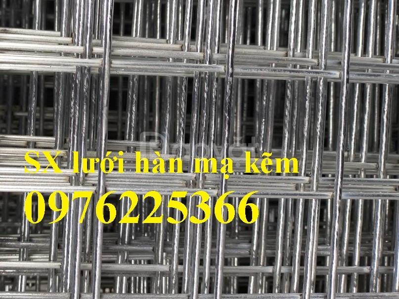 Lưới thép hàn mạ kẽm D3 a(50x50), D4 a(50x50) tại Hà Nội