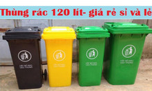 Phân phối thùng rác 120 lít 240 lít 660 lít giá rẻ tại Kiên Giang