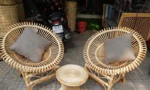 Set ghế mây cà phê cao cấp