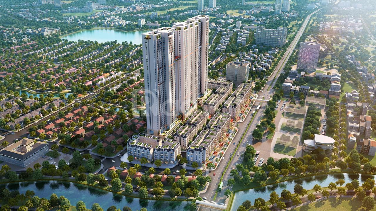 Căn hộ 3PN đẹp Hà Đông, ngay gần Aoen Mall Hà Đông