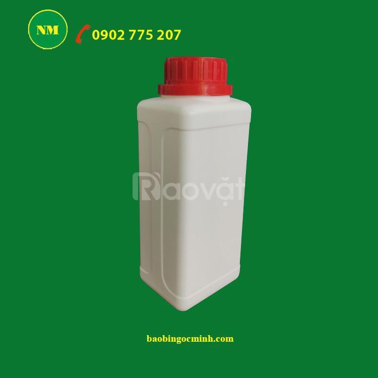 Chai nhựa đựng thuốc trừ sâu, đựng phân bón dung tích 500ml