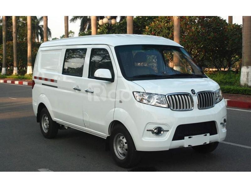 Bán xe tải van dongben 5 chỗ vào thành phố Trả trước 80 triệu nhận xe