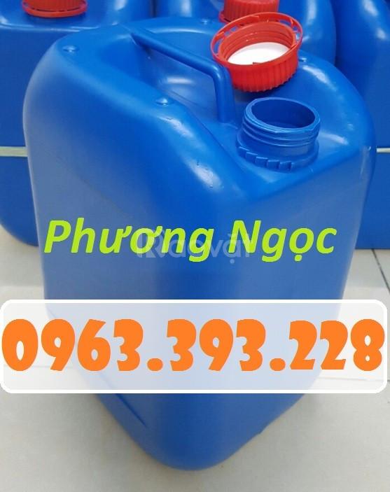 Can nhựa đựng hóa chất, can nhựa công nghiệp, can nhựa HDPE