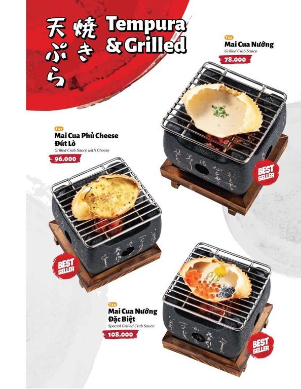 Bếp nướng than cồn Nhật Bản, lò nướng than Nhật, bếp Nhật
