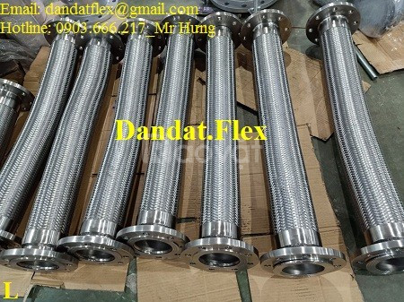 Khớp nối mềm cho nhà máy thép, khớp nối mềm chống rung inox, ống nối