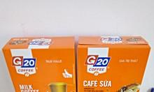 G20 Coffee - Cà phê hòa tan 3 in 1chuẩn gu cà phê Sài Gòn