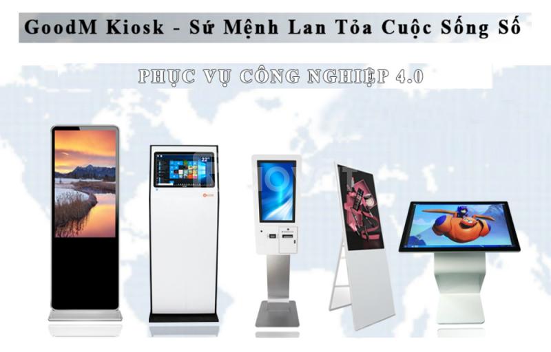 Hệ thống Kiosk GoodM giúp ứng dụng báo cáo y tế điện tử