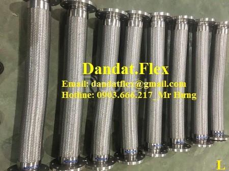 Khớp nối mềm kim loại, khớp nối mềm inox, khớp nối chống rung inox