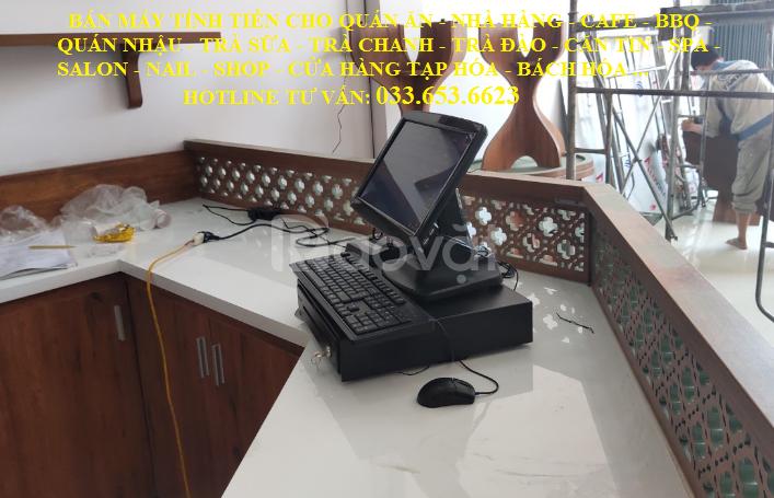 Bán máy tính tiền cho quán ăn, cafe tại Nha Trang
