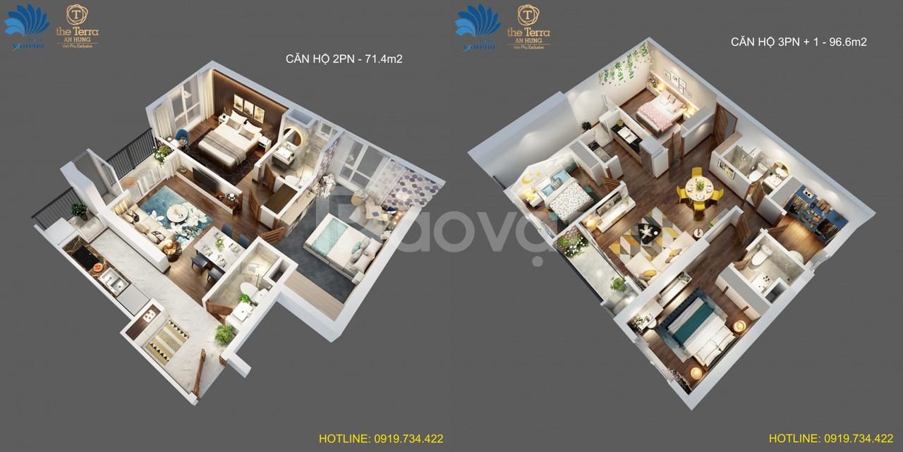 Căn hộ 4 phòng ngủ đẹp nhấtHà Đông, ngay gần Aoen Mall Hà Đông