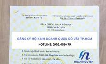 Dịch vụ đăng ký hộ kinh doanh tại quận Gò Vấp TP.HCM
