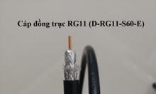Cáp đồng trục Hosiwell RG6, RG11, 305m/cuộn
