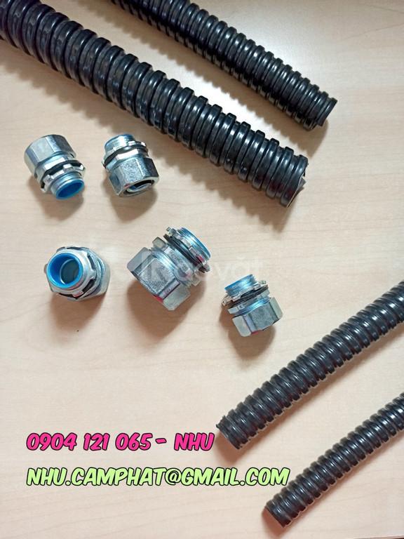 Hàng chất lượng cao ống ruột gà lõi thép bọc nhựa PVC