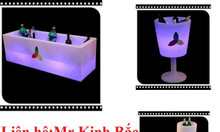 Ghế bar, bàn bar, led bar, ghế bar, bàn ghế led, bàn ghế phát sáng