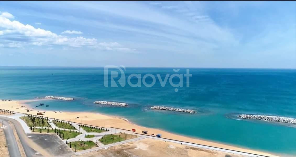 Lô đất sổ đỏ mặt biển, mặt tiền 12m