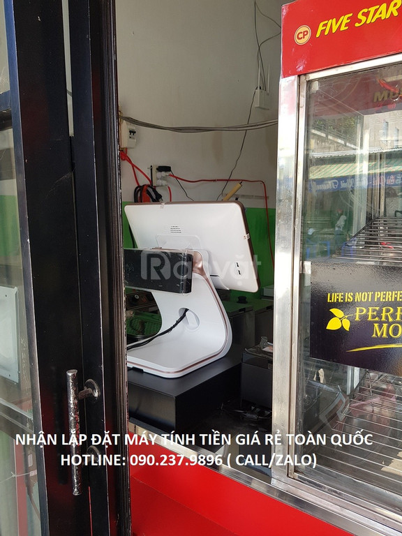 Bán máy tính tiền cho cửa hàng thức ăn nhanh tại Bình Dương