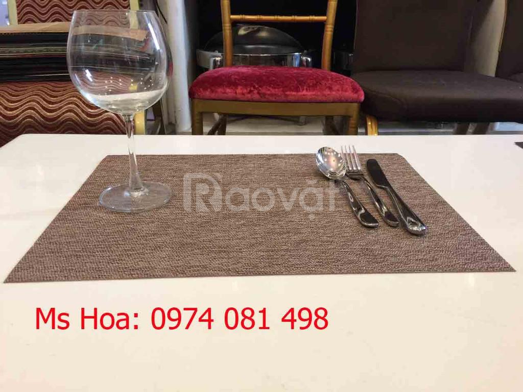 Tấm trải bàn ăn nhà hàng