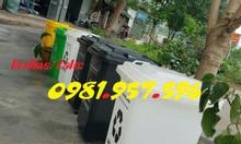 Thùng rác nhựa bánh xe, thùng rác công nghiệp