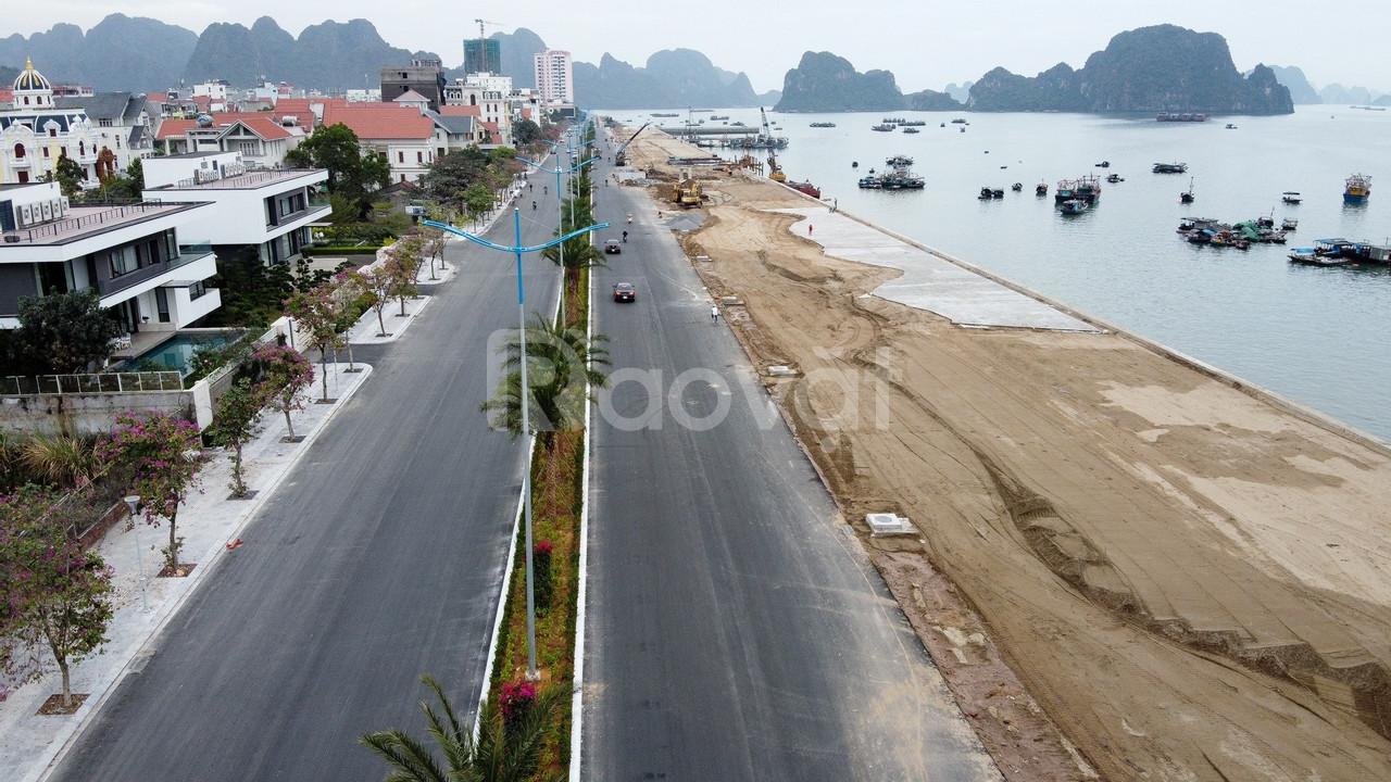 Cần bán lô đất biệt thự mặt biển Hạ Long diện tích 450m2