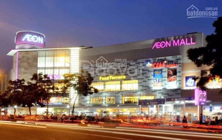 Bán gấp lô đất giá rẻ liền kề Aeon Mall Bình Tân, đã có sổ hồng riêng.