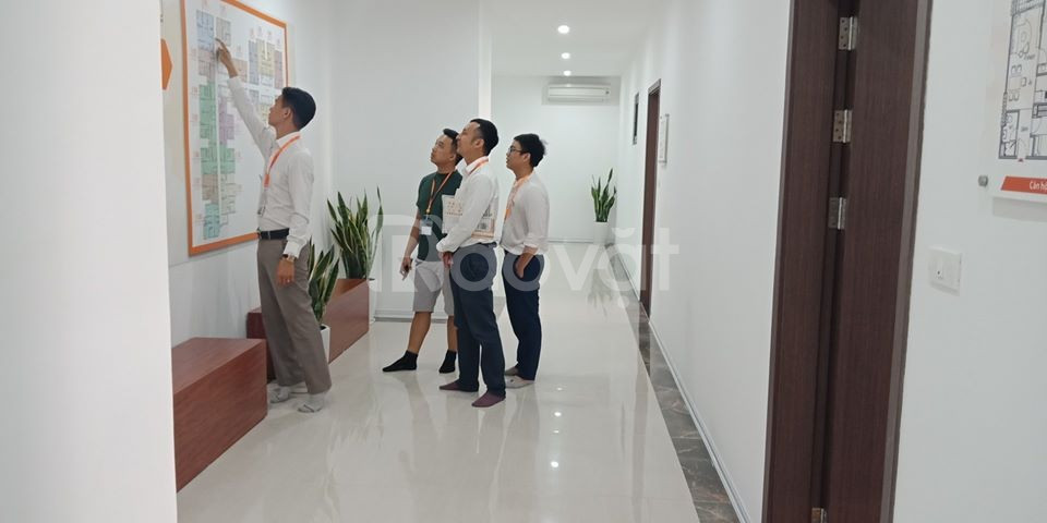 Bán căn hộ chung cư ngay mặt đường đại lộ Chu Văn An giá cực tốt