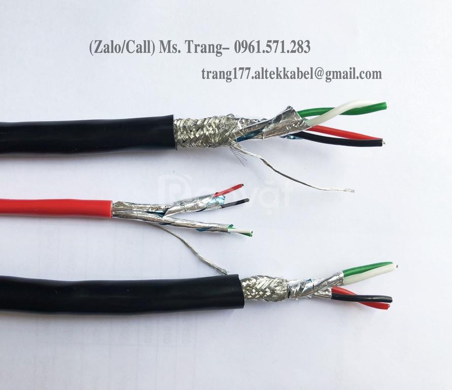 Cáp truyền thông RS485 với 3 lớp chống nhiễu hiệu Altek Kabel