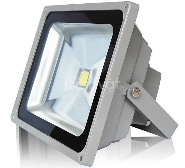 Đèn pha led xám bạc 50W tiết kiệm điện giá rẻ