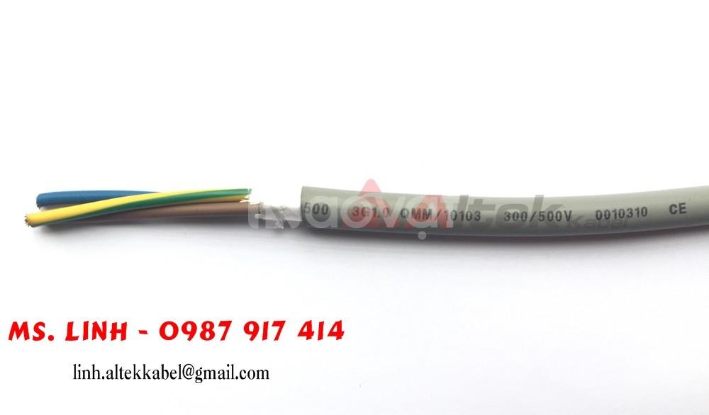 Cáp điều khiển 3x0.5 - Cáp RVVP 3x0.5mm2