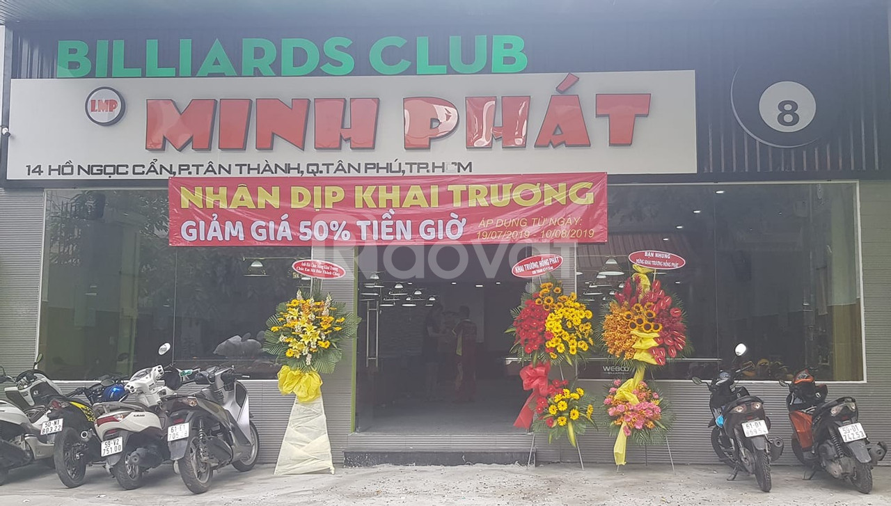 Bida minh phát ở quận Tân Phú TP HCM
