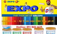 Cửa hàng sơn Expo giá rẻ chính hãng kho nhà máy