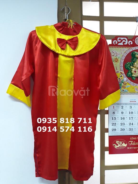 May trang phục áo tốt nghiệp dành cho mẫu giáo mầm non
