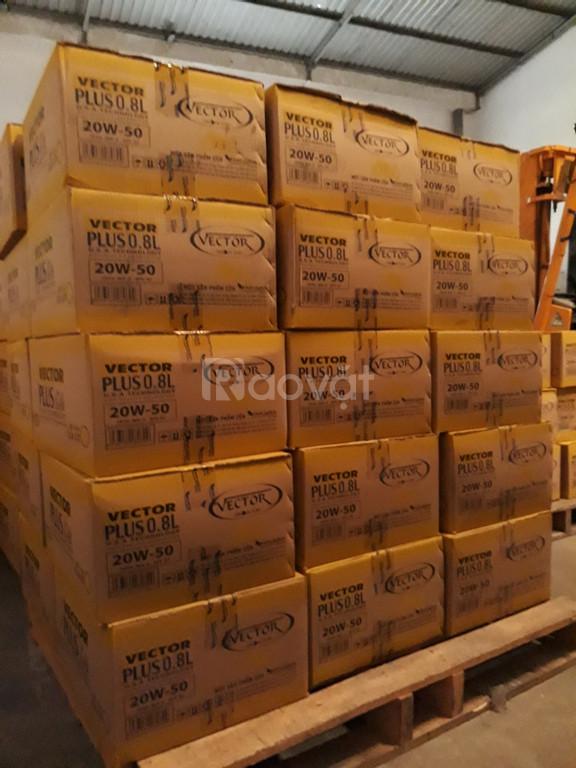 Dầu nhớt cao cấp Vector cần tìm nhà phân phối độc quyền
