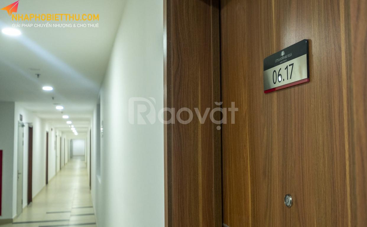 Căn hộ chung cư Cityland Park Hills từ 1 đến 3 phòng ngủ
