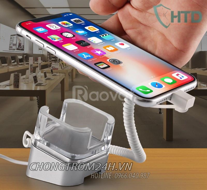 Chân đế chống trộm điện thoại trưng bày V1060 - an tâm kinh doanh