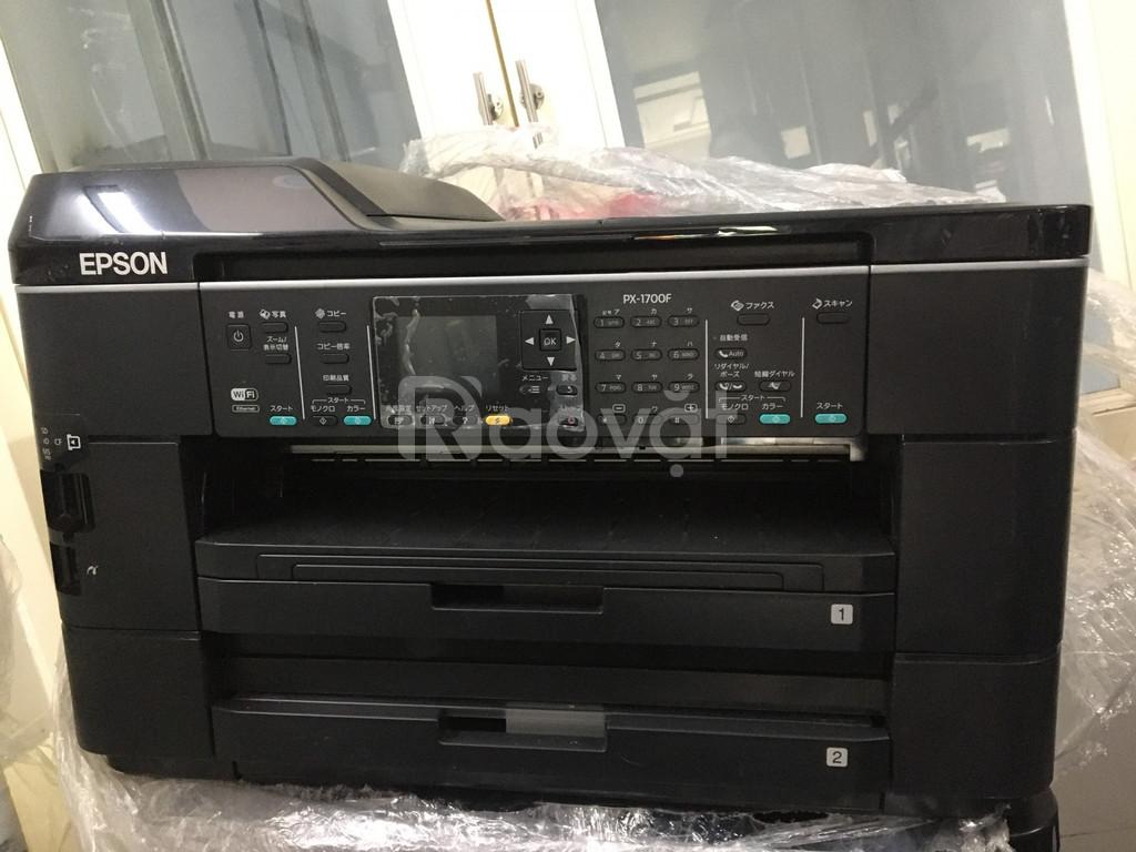 Máy in khổ A3 in - scan - photo - fax - wifi  - in hai mặt epson 1700f