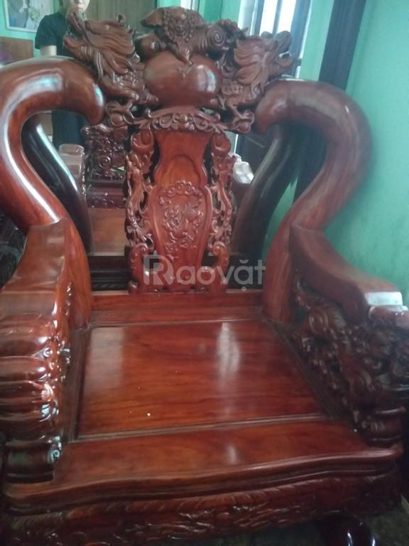 Bộ bàn ghế gỗ quý Cẩm LAi Nam Phi giá rẻ