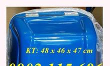 Thùng giao hàng nhanh, thùng chở hàng sau xe máy, thùng giao cơm hộp,