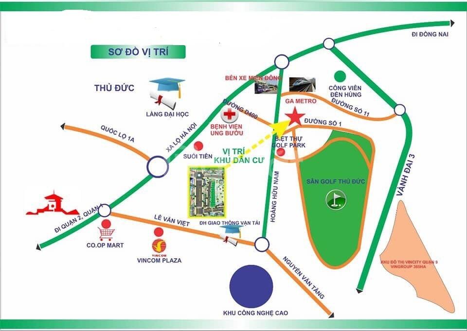 Bán Đất KDC Hoàng Hữu Nam Quận 9 SHR (ảnh 1)