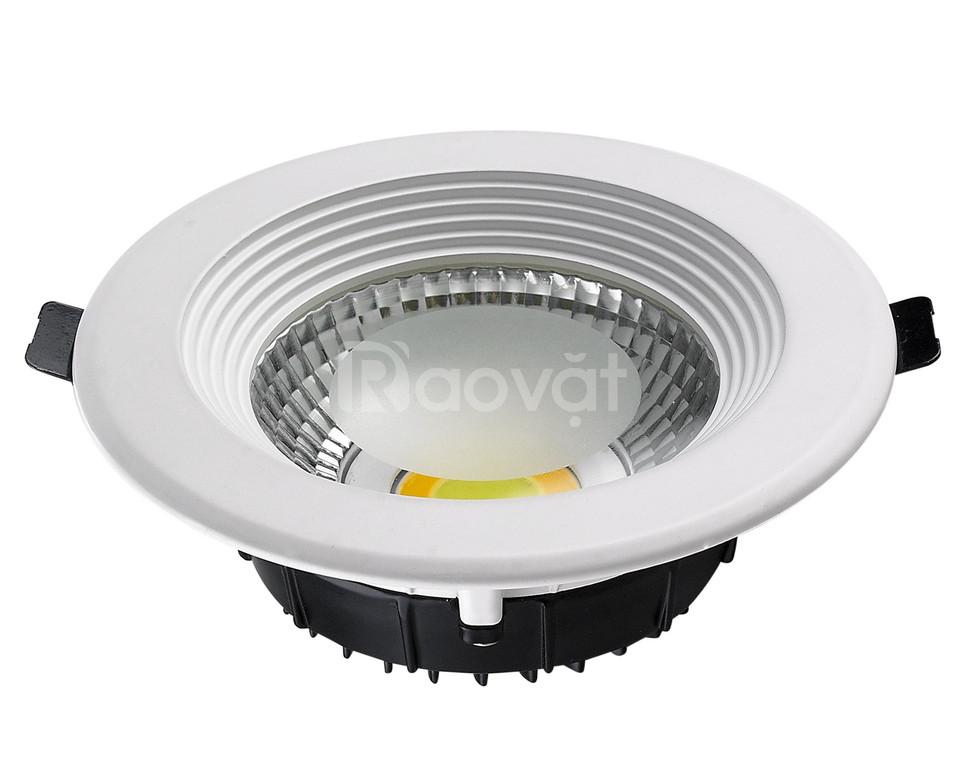 Đèn LED âm trần COB công suất 20W chiếu sáng