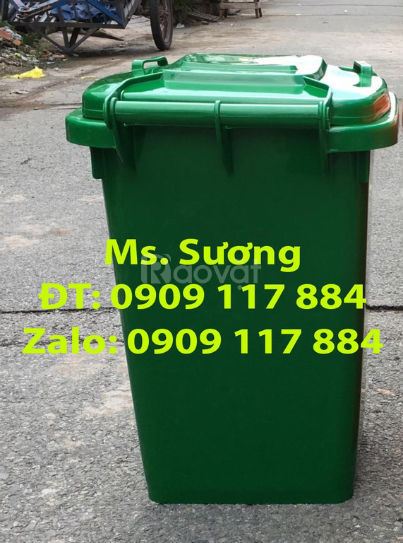 Thùng rác 90 lít giá rẻ, hàng chất lượng